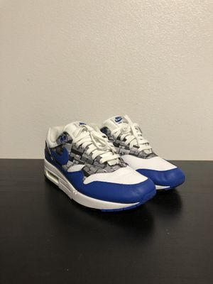 Air max 1 we love Nike (game royal ) for Sale in Long Beach, CA