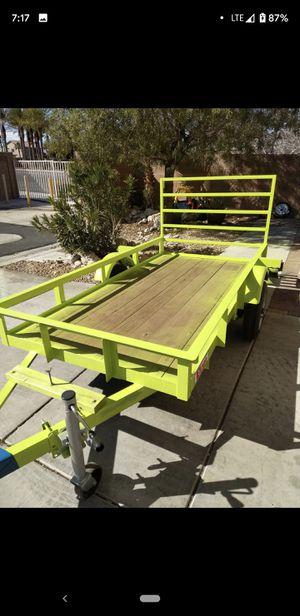 Atv utility trailer up for sale for Sale in Las Vegas, NV