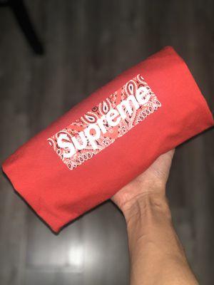 Supreme Bandana Red Box Logo for Sale in Hayward, CA