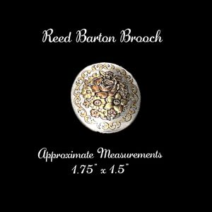 """💥3 for $15💥Gorgeous Brooch by Reed Barton 1.75"""" So much detail. The picture is worth a thousand words. SHIPPING ONLY!!! for Sale in Colorado Springs, CO"""