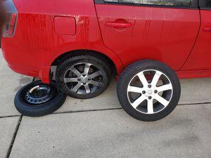 """Nissan Sentra 2012 16"""" OEM rims 350 OBO for Sale in Elkridge, MD"""