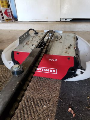 Craftsman chain drive for Sale in Denton, TX