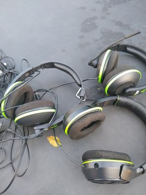 Xbox games and headphones for Sale in Fresno, CA