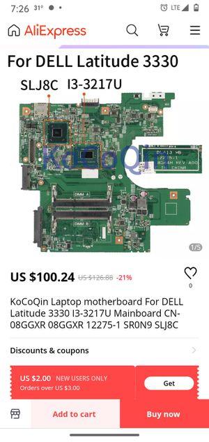Dell latitude 3330 vestro motherboard for Sale in Wichita, KS