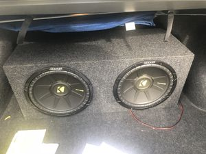12 inc kicker subwoofer for Sale in Annandale, VA