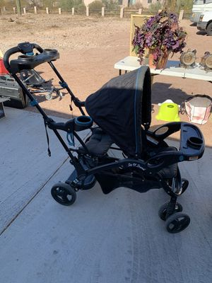 Sit and Stand Baby Trend stroller for Sale in Fort McDowell, AZ