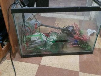 2 Fish Tanks Pumps Filters Flowers Trees Ect for Sale in Sun City,  AZ