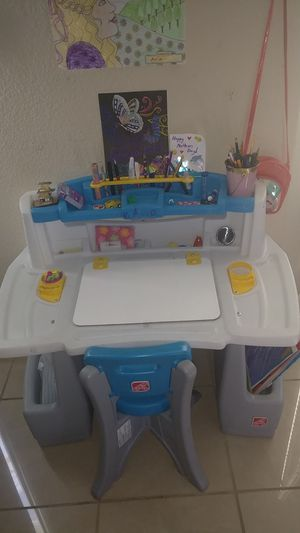 Kids Art Desk and Chair for Sale in Sunnyvale, CA