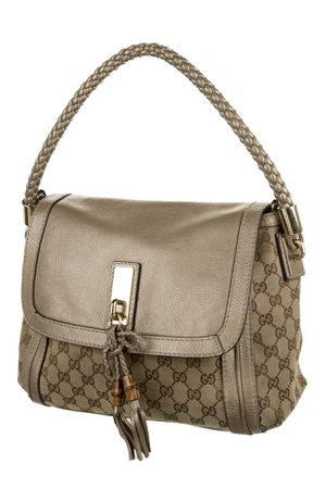 Gucci Bella Flap GG canvas and leather Hobo Bag AUTHENTIC for Sale in San Diego, CA