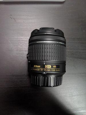 Nikon AF-P Nikkor 18-55mm 3.5-5.6G for Sale in Seattle, WA