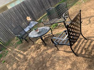 Outdoor patio sofa set for Sale in Fort Worth, TX