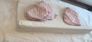 Changing pad w/ 2 covers for Sale in Virginia Beach, VA
