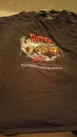 Halloween horror nights entertainment staff shirts for Sale in Sorrento, FL