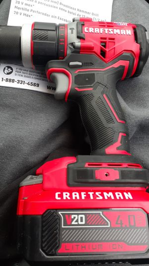 20 volt 1 and 1/2 13 mm brushless hammer drill for Sale in Lake Shore, MD