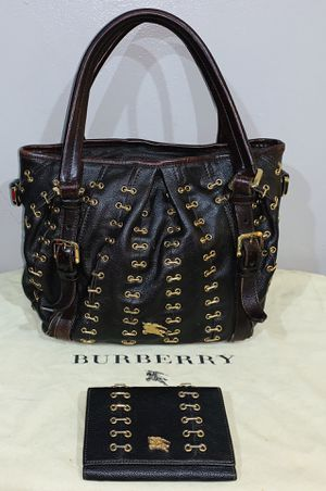 Authentic Burberry Bag & Wallet for Sale in Long Beach, CA