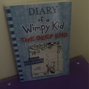 Diary of a Wimpy Kid The Deep End for Sale in Jonesboro, GA
