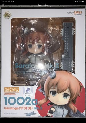 Good Smile Kancolle: Saratoga Mk. II Nendoroid Action Figure for Sale in Anaheim, CA