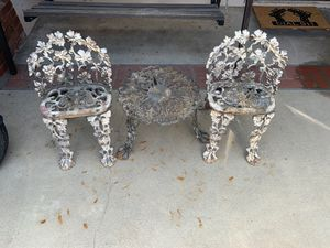 Cast iron plant stands for Sale in Colton, CA