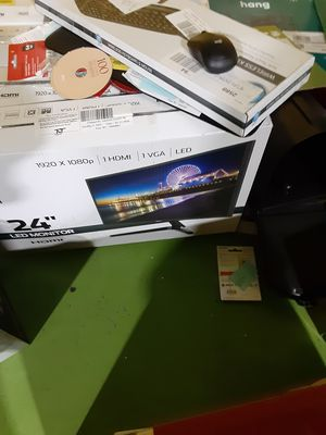 24in L.E.D. Monitors for Sale in Kinston, NC