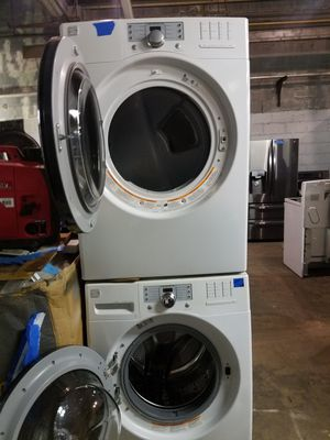 Kenmore front load washer and dryer set working perfectly for Sale in Baltimore, MD