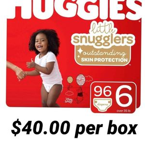 Huggies Little Snugglers Size 6 for Sale in Los Angeles, CA