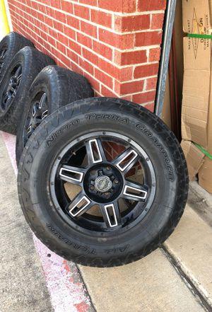 Jeep wheels jeep parts for Sale in Dallas, TX