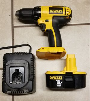 DeWalt 18v drill driver, Battery, and charger for Sale in Virginia Beach, VA