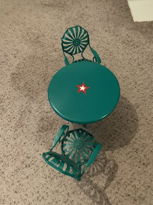 American Girl Doll Table and Chairs for Sale in North Richland Hills, TX