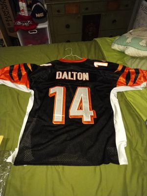Andy Dalton authentic Reebok jersey size 50 for Sale in Falls Church, VA