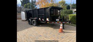 Big Tex 7x16 dump trailer for Sale in Los Angeles, CA