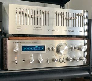 Pioneer SA-8800 Stereo Amplifier and SG-9800 Equalizer. Look and Work Great. for Sale in Delano, CA