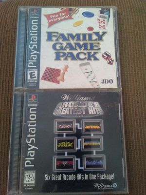 William's Arcade's Greatest Hits, Family Game Pack, PS1 for Sale in Oshkosh, WI