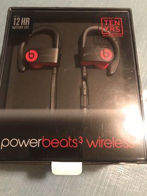 Powerbeats 3 wireless for Sale in San Antonio, TX