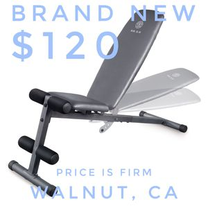 Weider Adjustable Workout Bench, Max Weight 410lbs for Sale in City of Industry, CA