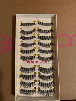 10 synthetic eyelashes for Sale in Fairfax, VA