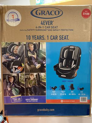 Brand New Graco 4Ever 4-In-1 Car seat for Sale in Los Angeles, CA