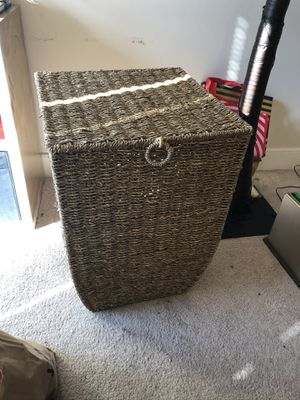 Rattan Laundry Basket for Sale in Washington, DC