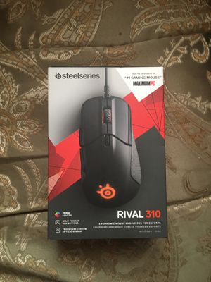 Rival 310 ERGONOMIC GAMING MOUSE for Sale in Sparta, WI