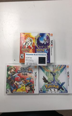 Nintendo 3ds bundle for Sale in Pittsburgh, PA