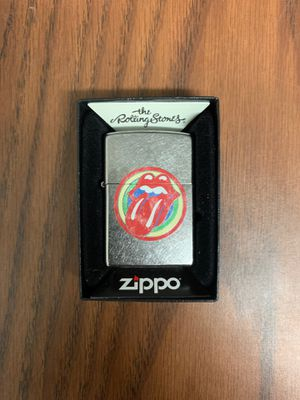ZiPPO Limited Edition Rolling Stones Lighter | With Free Wick and Flints for Sale in Los Angeles, CA