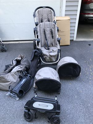 City stroller with everything you need for 2-3 children (infant to older toddler) for Sale in Wayland, MA