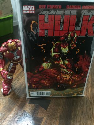 Ironman Hulk Buster led toy / comicbook for Sale in Miami, FL