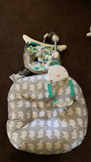 Baby bounce and also baby swing please give me your best offer selling for $50 for both for Sale in Hawthorne, CA