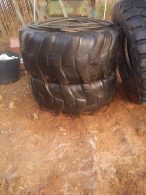 Tractor tires and wheels for Sale in Jamul, CA