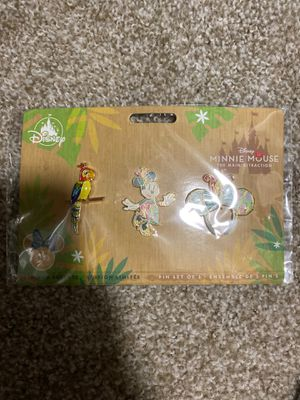 Disney Minnie Mouse Main Attraction Enchanted Tiki Room Pin Set for Sale in Renton, WA