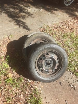 3 Tires and wheels 185/65/14 for Sale in Atlanta, GA