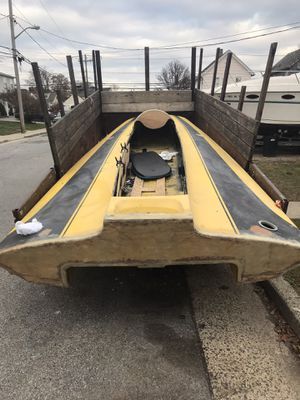 Tunnel king. I think. No papersMotors available trailers available16. 17 ft delivery available rigging available for Sale in Baldwin, NY