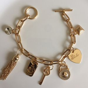"Mk Michael kors charm bracelet 8.5"" for Sale in Silver Spring, MD"