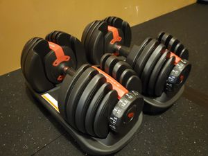 Bowflex 552 adjustable dumbbells. for Sale in Lacey, WA