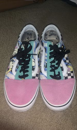 Custom unisex mickey mouse vans original price was 130$ for Sale in Carnegie, PA